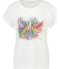 aaiko x alex t-shirt avery  wit