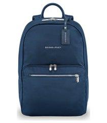 men's briggs & riley rhapsody essential water resistant nylon backpack - blue
