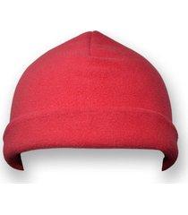 gorro térmico rojo x2 unidades santana
