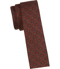 logo wool-blend slim tie