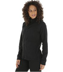 jaqueta de frio fleece nord outdoor basic new - feminina - preto