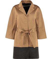add short trench coat