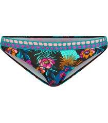 slip bikini (nero) - rainbow