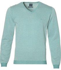 nils pullover v-hals - slim fit - groen