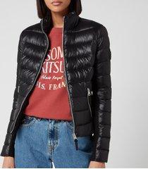 mackage women's reema light padded jacket - black - l