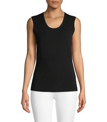 wool-blend ribbed tank