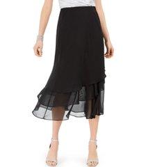 msk tiered skirt