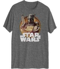 mandalorian solider men's short sleeve graphic t-shirt