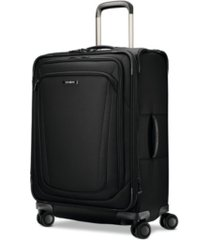 "samsonite silhouette 16 25"" softside expandable spinner suitcase"