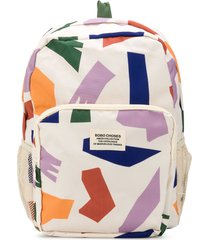 bobo choses shadows all over backpack - neutrals