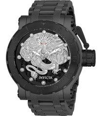 reloj invicta 26512 gunmetal acero inoxidable