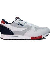 zapatilla blanca  fila euro jogger sport
