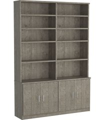 estante livraria 4 portas 1283 demolição m foscarini