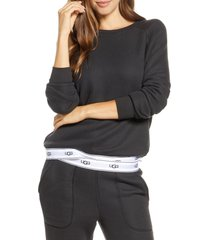 women's ugg nena pullover, size x-small - black