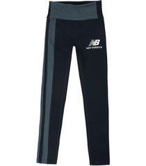 leggings azul new balance rlntls black
