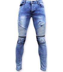 skinny jeans true rise spijkerbroek - biker jeans skinny -