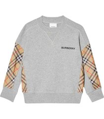 burberry gray pullover