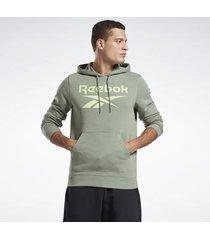 t-shirt reebok sport identity big logo hoodie