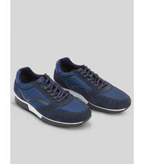zapatos tipo sneakers en tela 94485