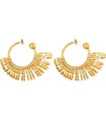 les creoles baguier hoop earrings