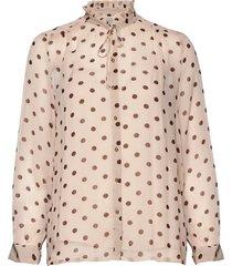 modesty blouse lange mouwen roze baum und pferdgarten