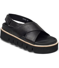 vendela shoes summer shoes flat sandals svart nude of scandinavia