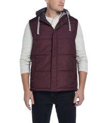 weatherproof vintage men's hooded puffer vest