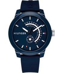 tommy hilfiger men's blue sport watch navy -