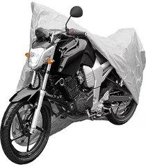 cubremoto master poliester para motos cortas con tula
