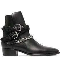 amiri bandana buckle boot