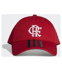 boné flamengo adidas baseball vermelho fs0265