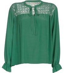 blouse cream milanie