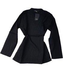 blusa negra spiga 31