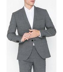 selected homme slhslim-buffalonoah white chk blz b kavajer & kostymer svart
