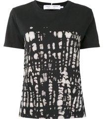 proenza schouler white label tie-dye slim-fit t-shirt - black