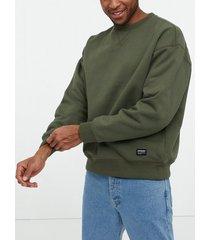 dr denim dario sweater tröjor emerald