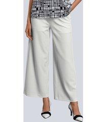 broek alba moda wit