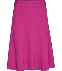 crepe georgette stelly c knälång kjol rosa mads nørgaard