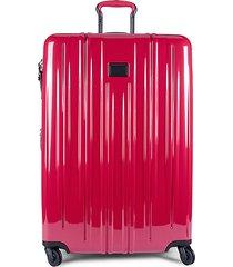 extended trip ballistic nylon expandable suitcase