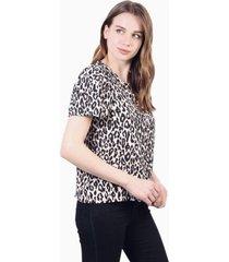blusa olivia animal print jacinta tienda