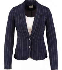 vero moda slim fit katoen polyester blazer valt kleiner