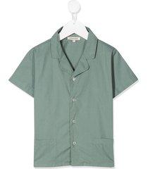 caramel holborn short sleeved shirt - grey