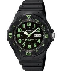 reloj casio mrw-200h-3b negro para hombre