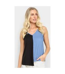 blusa mercatto regata feminina