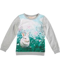 someone sweater materiaalmix met glitterdraad