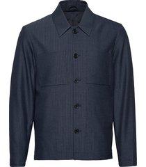 marseille herringb jacket dun jack blauw les deux