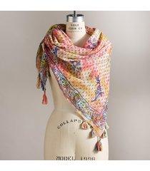 bodhi tree scarf