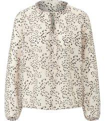 blouse zonder sluiting met lange mouwen van lanius multicolour