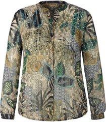 blouse lange mouwen van emilia lay groen