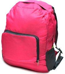 maleta rosada color rosado, talla uni